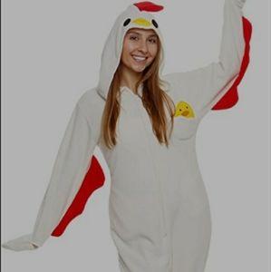 Other - NWOT women's sz XL chicken onesie costume